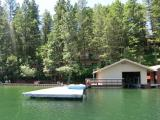 Lakeshore, Dock & Boat House