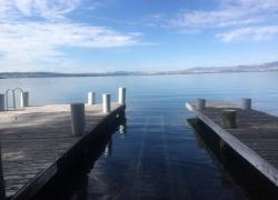 Flathead Lake Cabin. Boathouse, 2 Docks